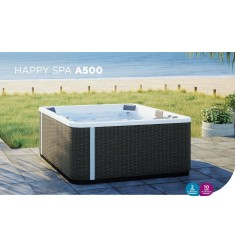 MINIPISCINA KINEDO HAPPY SPA A500 (215x215xH 94 CM) - 5 POSTI