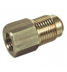 RIDUZIONE OTTONE TUBI RAME  5/8 M X 1/2 F