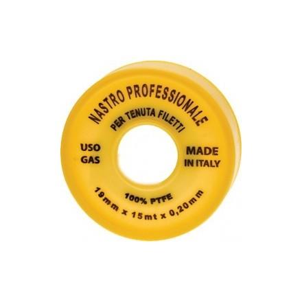 NASTRO TEFLON PROFESSIONALE MT15XMM19  SPESS. 0,20
