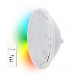 LAMPADA SEAMAID PAR56 RGB 90 LED 510LM 17W CON TELECOMANDO
